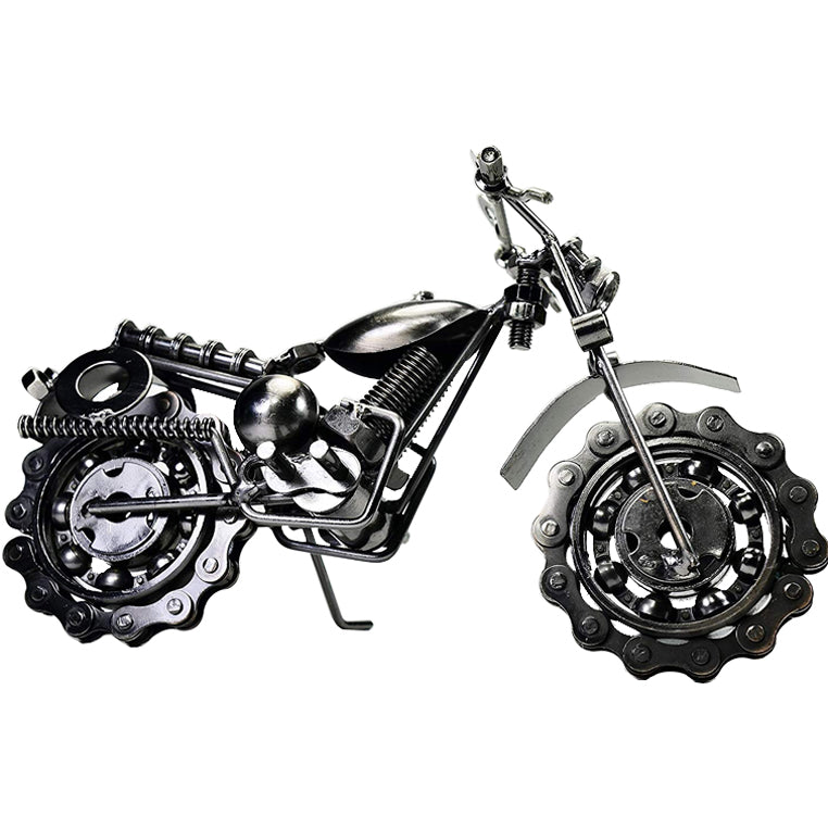 Recycled Chain-wheel Motorbikes