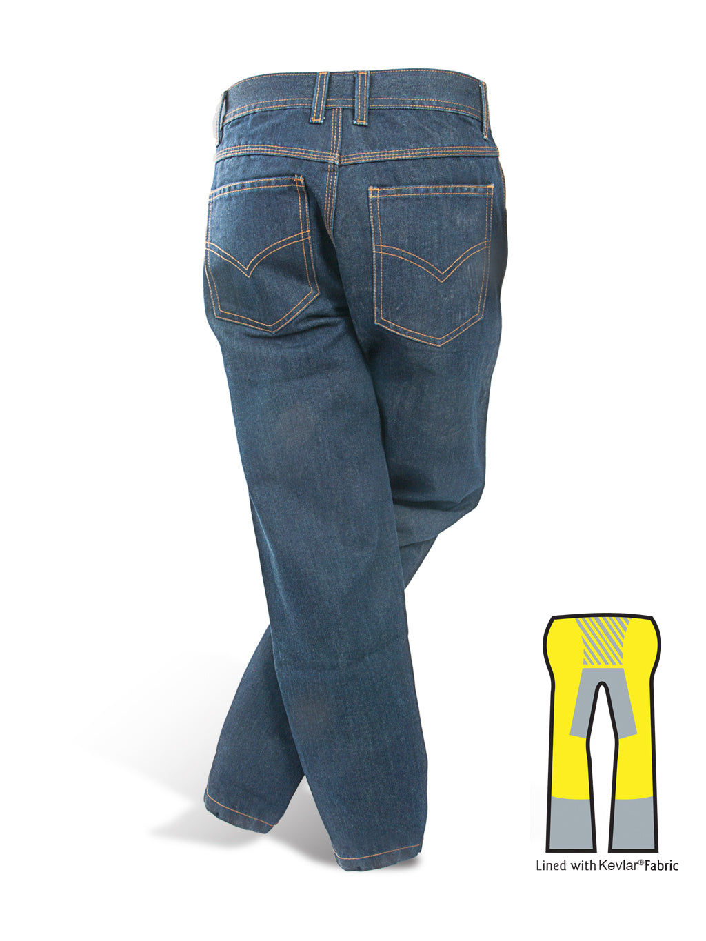 Custom Size Men Vintage Denim Jeans