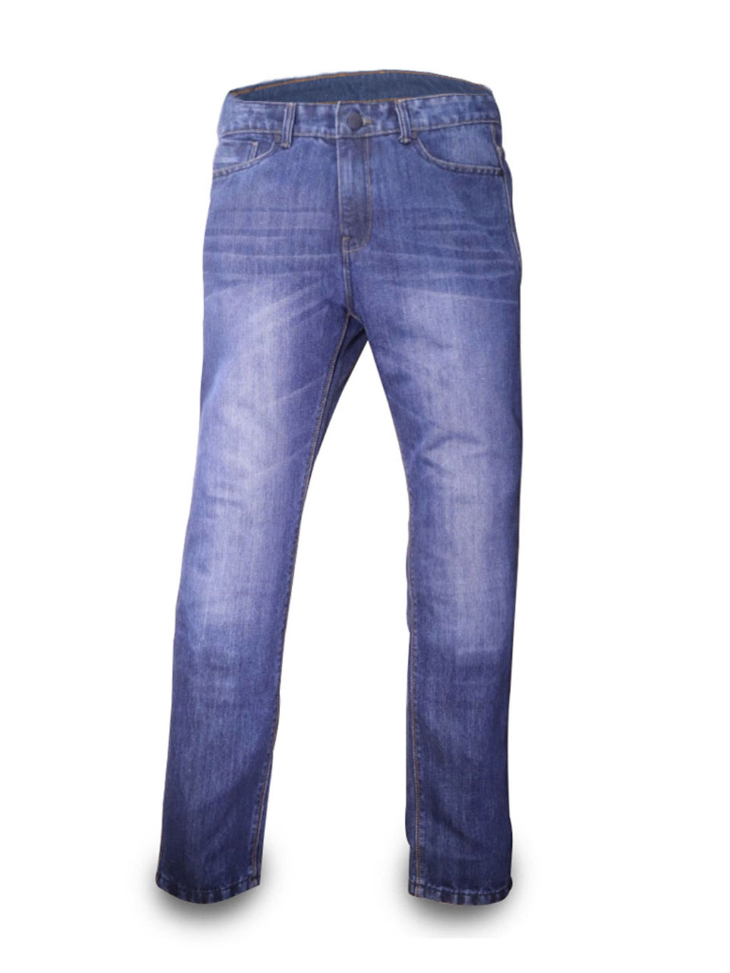 Custom Size Blue Detroit Steel Jeans