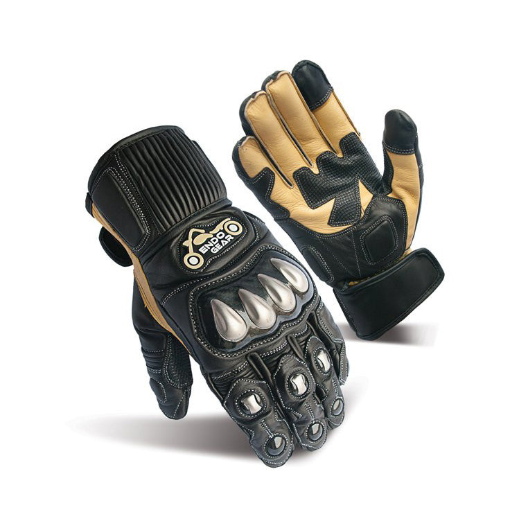 Full Finger Leather Cool max Sports Gloves