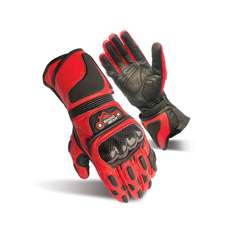 warm Leather Motorcycle Gloves