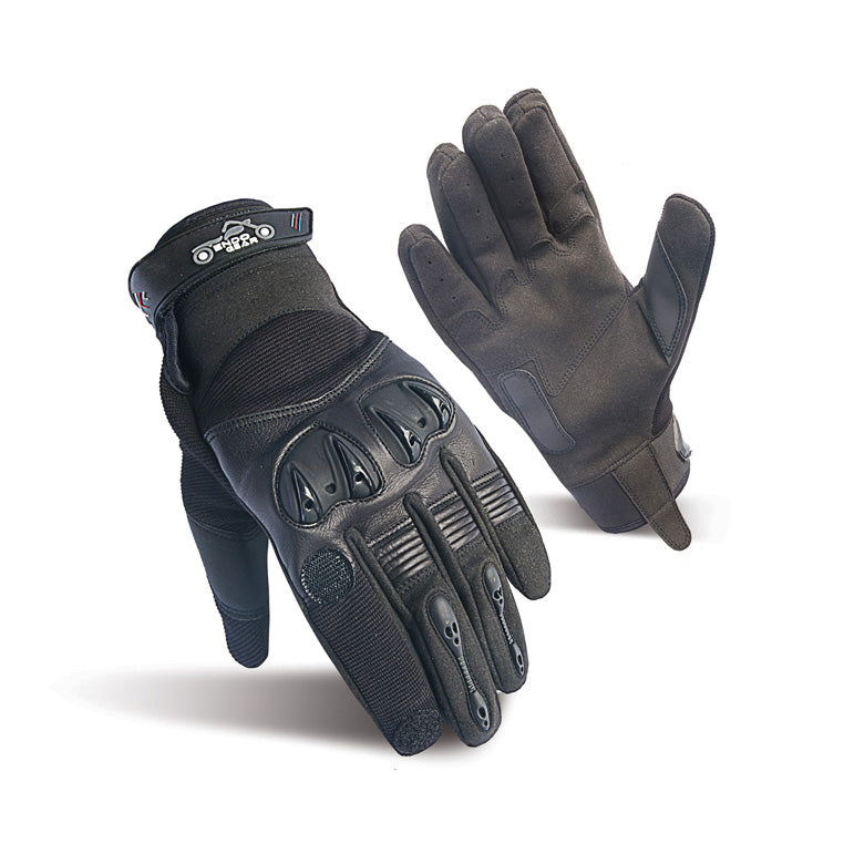 Burner Heated Kevlar Motorcycle Gloves