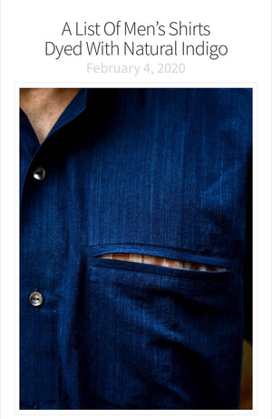US Blog Reactual list Tonn Indigo Crew on list of best indigo garments