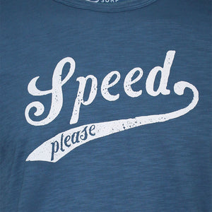 Speed Tee Dark Blue
