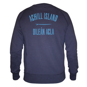 Mens Achill Island Organic Cotton Sweatshirt