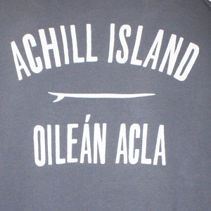 Mens Achill Island Organic Cotton Sweatshirt Grey