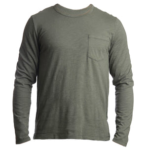 Mens Biker Surf Long Sleeve Tee