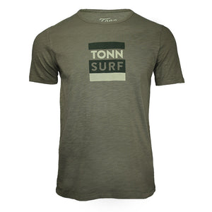 Tonn Surf Tee Army Green  - SMALL, MEDIUM AND XXL LEFT!