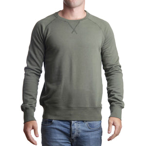 Mens Tramore Beach Races Sweatshirt Green