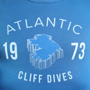 Cliff Dives Tee - Blue