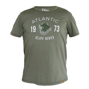 Cliff Dives Tee - Green