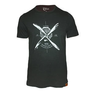 Atlantic Crossing Black Tee