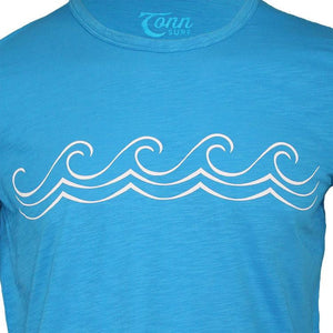 Celtic Wave Tee Bright Blue