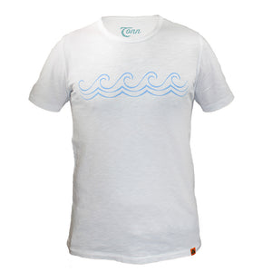 Celtic Wave Tee White