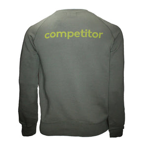 Competitor Sweatshirt Green - Small, medium and XXL left!