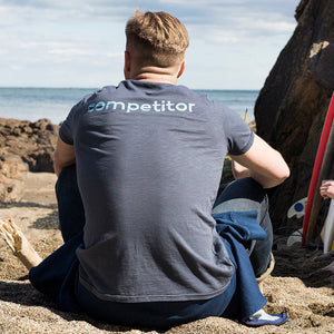 Competitor Tee Navy - Small and XXL left!