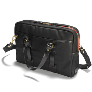 Vintage Canvas Laptop bag Black