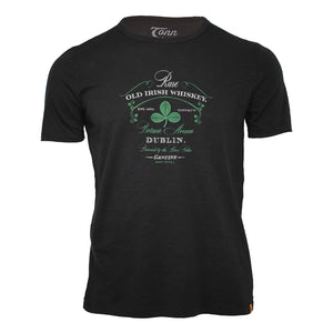 Dublin Whiskey Tee - Black