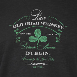 Ladies Dublin Whiskey Tee - Black