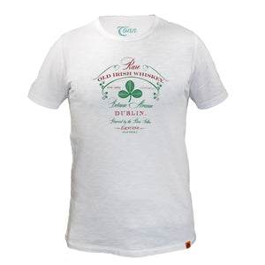Dublin Whiskey Tee - White