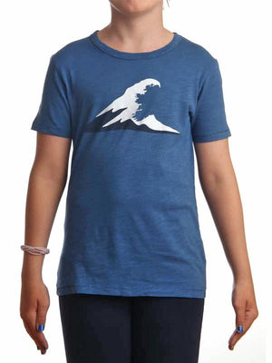 Girls Irish Coast Wave Dark Blue