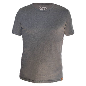 Basic Ultra Soft Grey Tee - 2XL - 4XL left