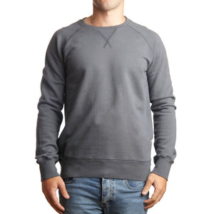 Organic Cotton Sweatshirt Grey