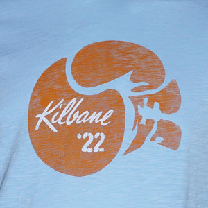 Kilbane Light Blue Tee. - LIMITED EDITION!  Only M, L, 2XL, 3XL & 4XL left.