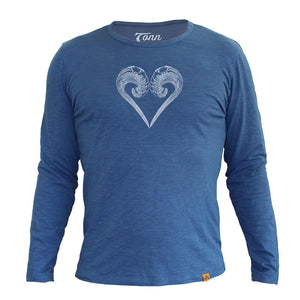Long Sleeve Ocean Lovers - Charity Tee.