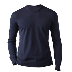 Round Neck 100% Merino Wool Sweater