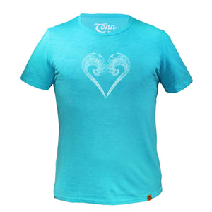 Ocean Lovers Turquoise - Charity Tee.