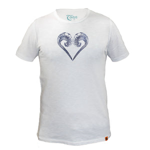 Ocean Lovers White - Charity Tee.