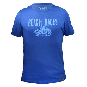 Beach Races Tee Blue