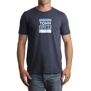 Tonn Surf Tee Navy - ONLY 1 M & 1 XXL LEFT!