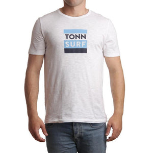 Tonn Surf Tee White - Small and XXL left!