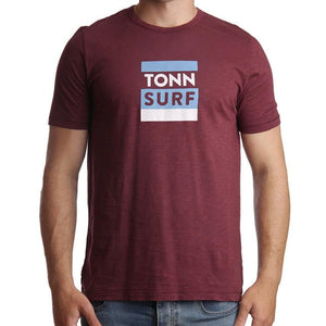 Tonn Surf Tee Wine - Small, medium and XXL left!