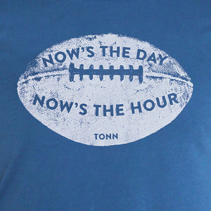 Now's the Day Rugby Crew Neck Tee Dark Blue
