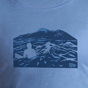 Ladies Croagh Patrick Tee Blue