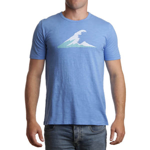 Irish Coast Wave Tee Blue