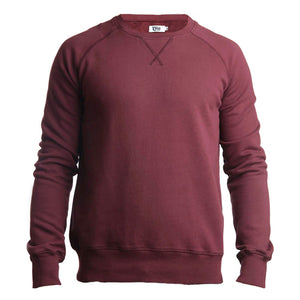 Organic Cotton Sweatshirt Wine