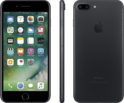 Apple iPhone 7 Plus, GSM Unlocked, 128GB - Black (Refurbished)