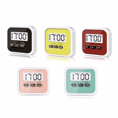 Large LCD Display Home Kitchen Timer Stopwatch