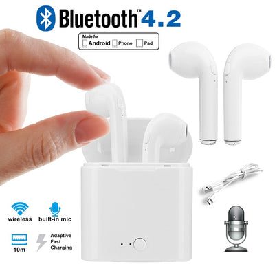 Mini Wireless Bluetooth Stereo Earbuds