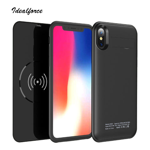 Wireless charger Case For iphone X Xs