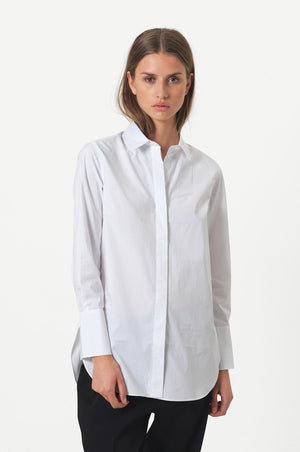 Larkin Ls Classic Shirt by Second Female- Smuk