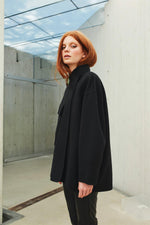 The New Short Wool Coat by Katrin Uri- Smuk