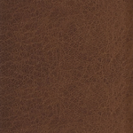 Brown leather swatch