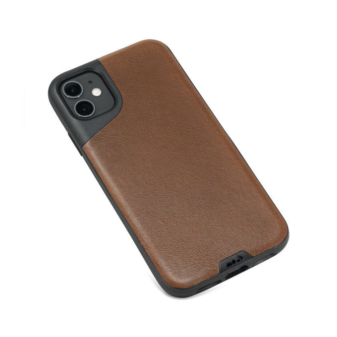Brown Leather Protective iPhone 11 Case