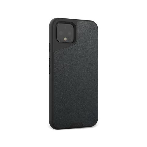 Black Leather Protective Google Pixel 4 XL Case
