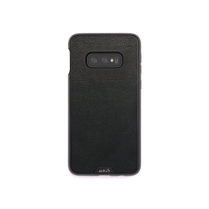 Black Leather Protective Samsung S10 E Case